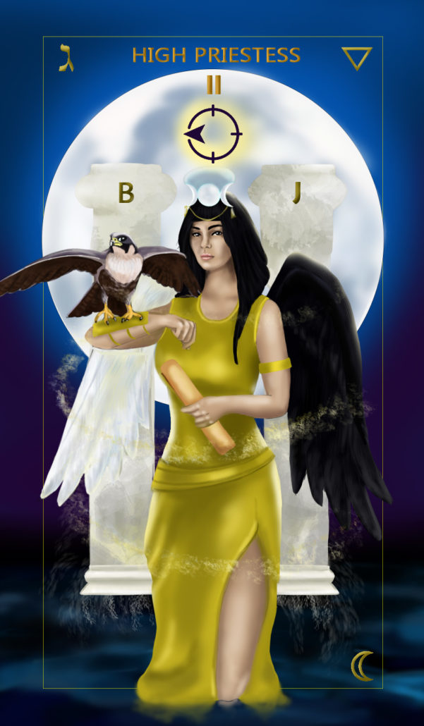 The Priestess | Tarot Card Meaning | City Tarot